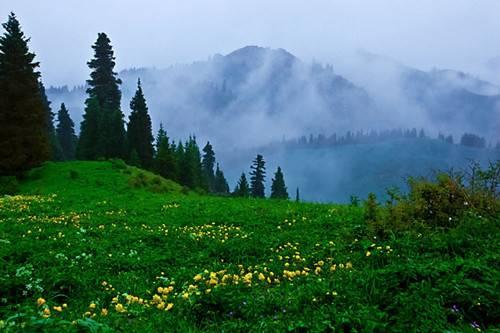 乌鲁木齐南山景点