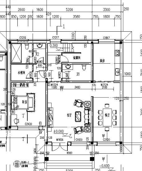 农村两层房屋如何设计?图片