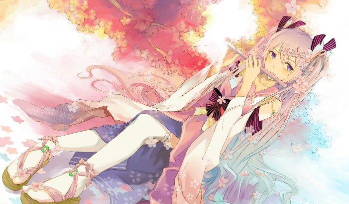 有点色色的日本12到14集动漫_求一部日本动漫,讲一只粉红色的猫咪和一只白色的兔子