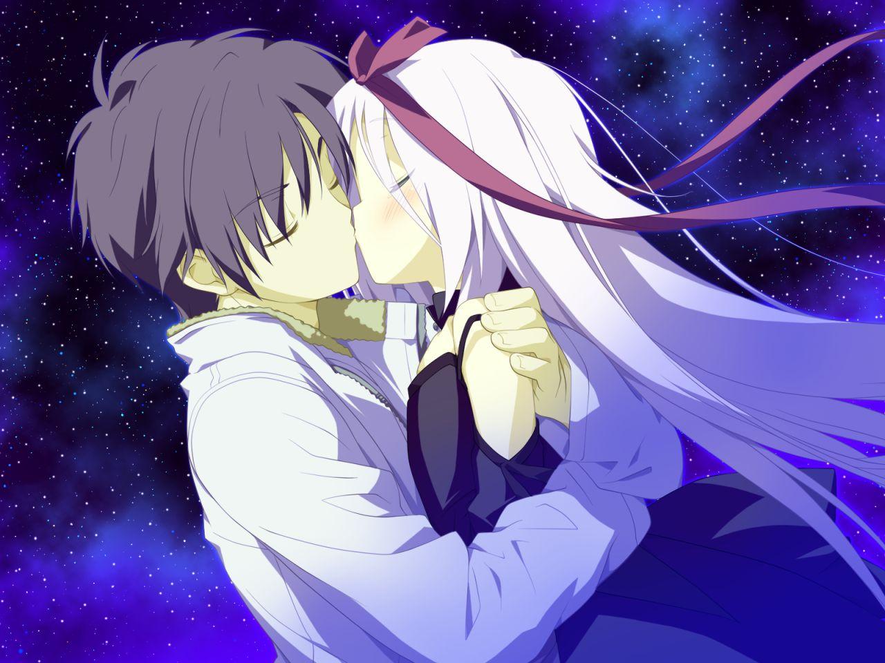 动漫kiss图