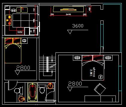 100平方米房子设计平面图图片