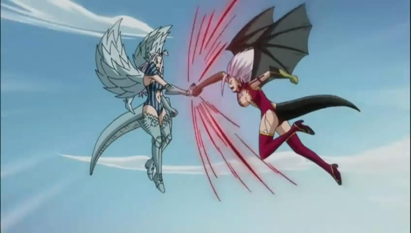 妖精的尾巴米拉第一次变身为撒旦之魂是在第几集? ps