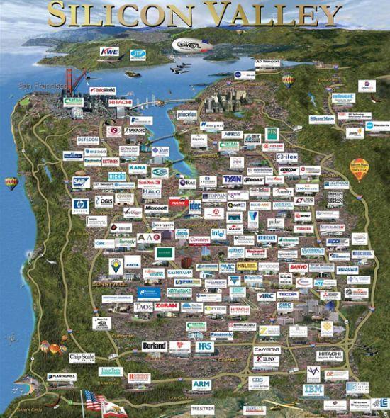 美国硅谷的特点