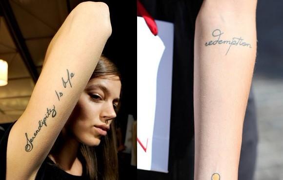 文字纹身_刺艺堂纹身艺术俱乐部_纹身图案图片