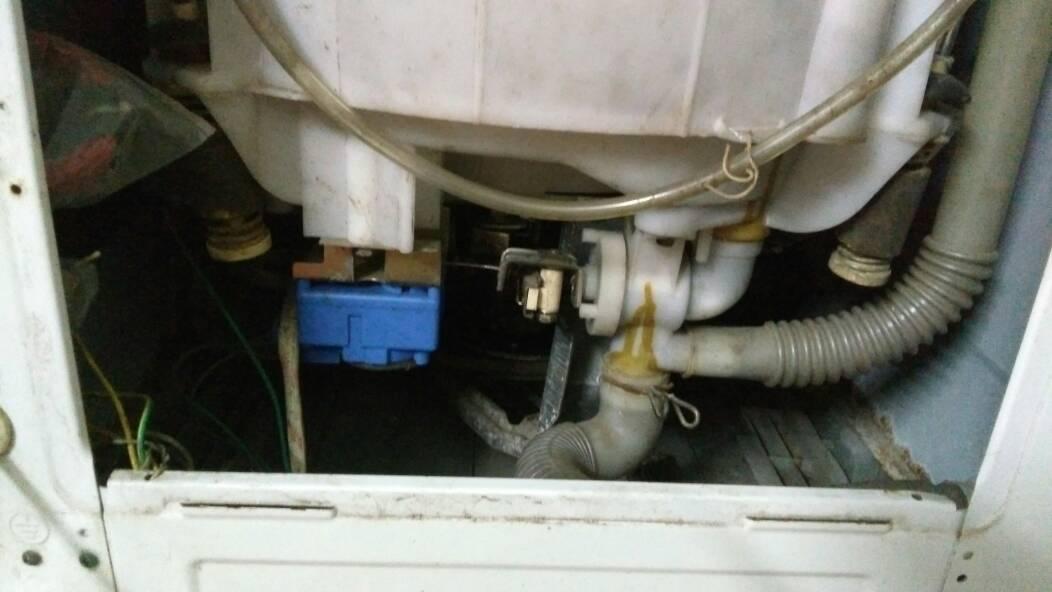 金羚洗衣机排水后,然后发动机没有转动图片