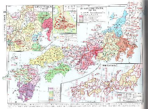 求日本历史地图