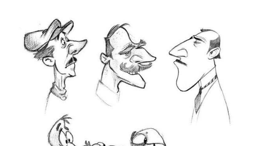 高清谁有大量 欧美风格的漫画图片啊 外国的那种 夸张的面部轮廓漫画