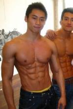 中国肌肉男图片帅气