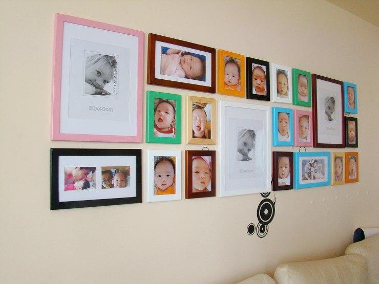 小女孩六个月艺术照放房间哪里好
