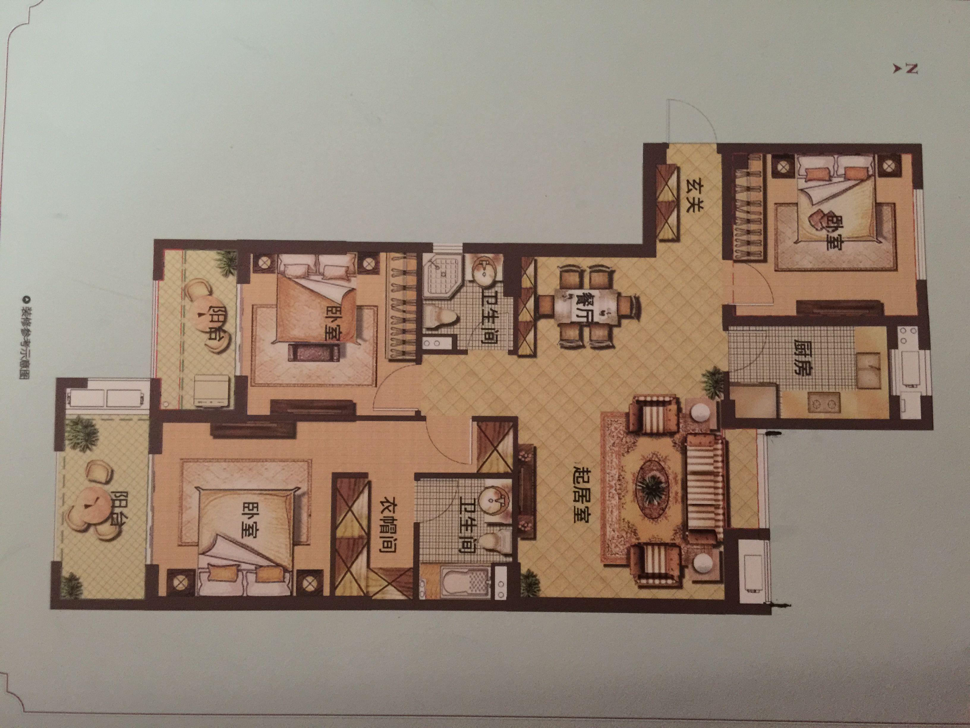 农村盖房子平面图