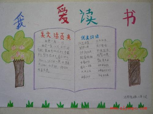 小学生二年级手抄报图片