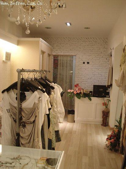 田园风服装店装修图片 小店20多平方米,想装田园风格的,大家有什么图片