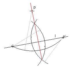 过直线外一点画已知直线的垂线,可以画几条图片