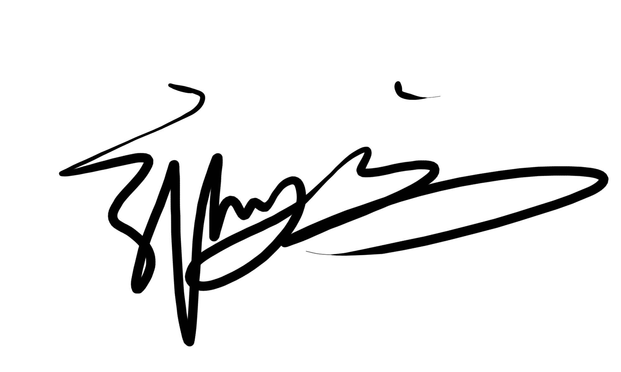 求帮设计个性艺术签名图片