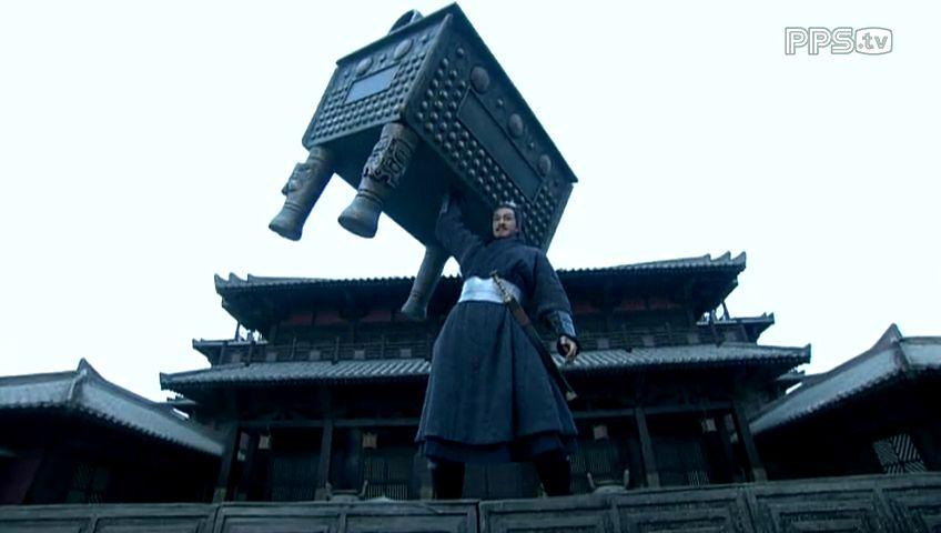楚汉传奇:项羽还是很霸气的.何润东演的项羽还是不错的图片