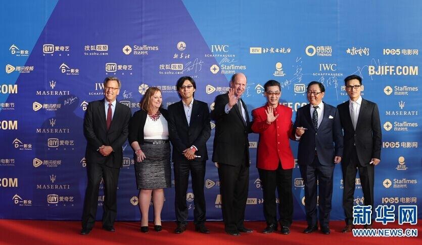 """从第五届北京国际电影节开始,以鼓励青年影人为宗旨的电影节""""注目图片"""