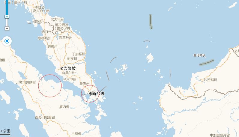 广州至吉隆坡多少公里