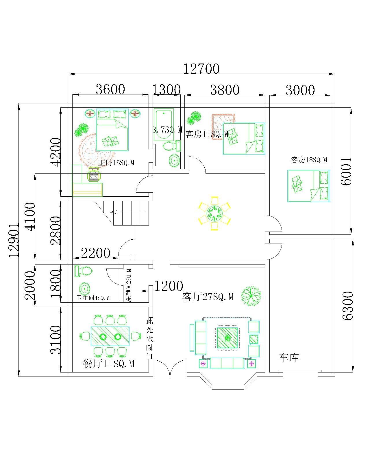 农村二层房屋设计图(cad或文字介绍) 78 2011-09-20 急求农村二层住宅图片