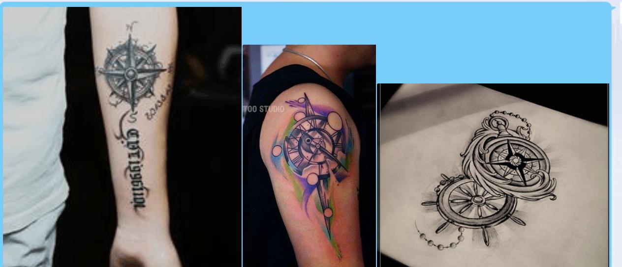 花臂男生帅气纹身图片_纹身图案