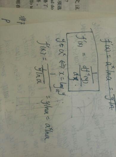 书反函数的导数