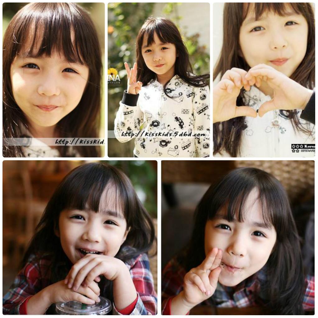 这个小女孩什么名字啊?好萌啊图片