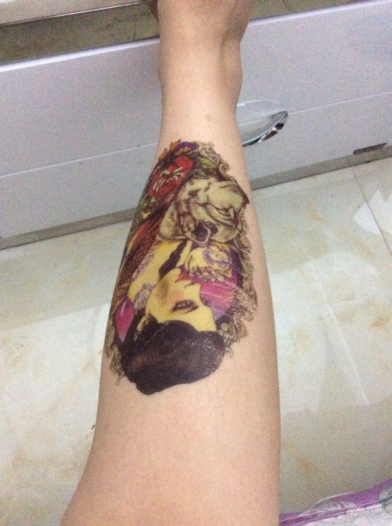 防水纹身贴,怎么去掉,超丑洗不掉了图片