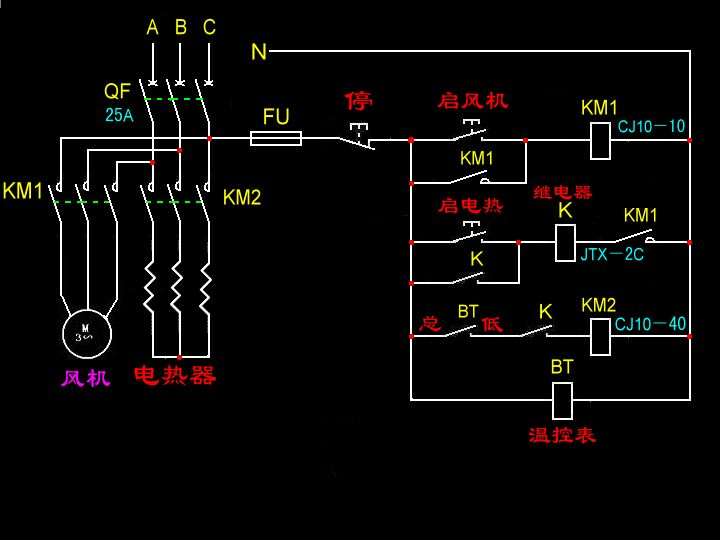 温控电路_如何区分电压时220v与380v?