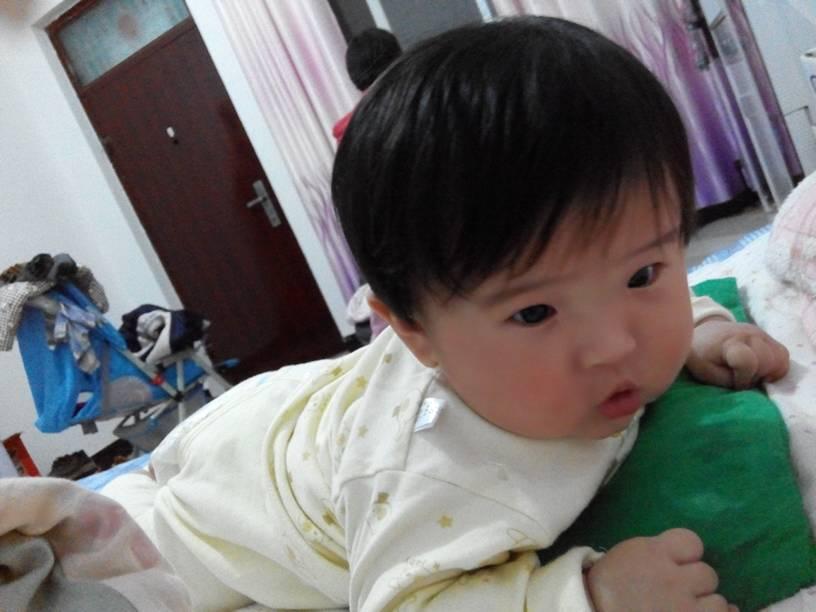宝宝三个月剪个什么发型好看?图片