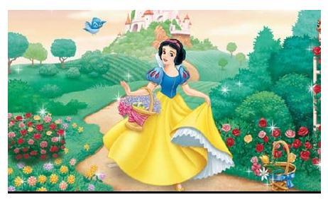 白雪公主怎么画图片图片