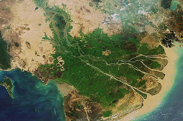 湄公河三角洲简介