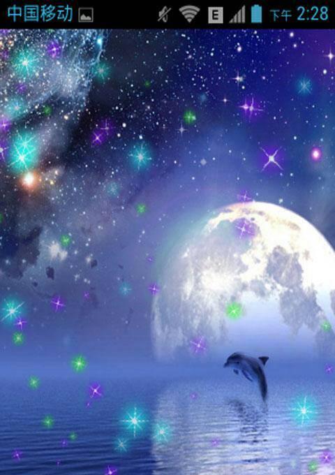 谁有手机qq空间背景的那个星空图,发我一下,谢谢图片