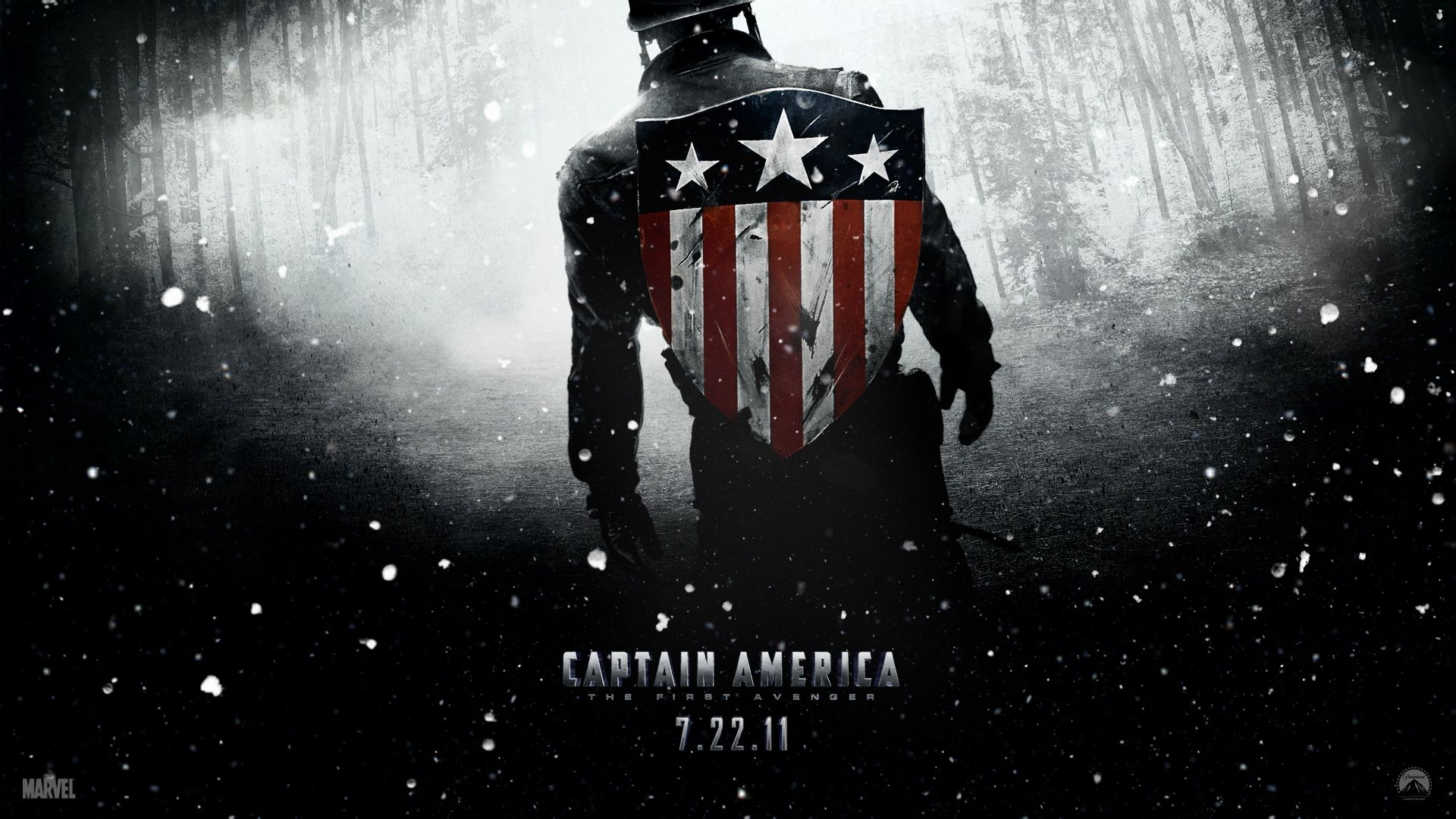 谁有美国队长1电影的全套高清壁纸