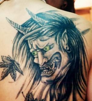 """如果你们想知道关於纹身的各种说法,可以去问""""河西二土匪""""和""""郭黄庄图片"""