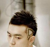 头发两鬓鼓鼓的 怎么压下去 打薄还是剃掉 两边怎么剃图片