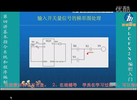 三菱PLC接线图画法