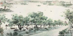 描写西湖景色的词语有哪些