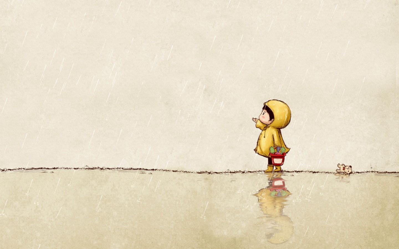 盟手游 下雨天唯美意境图片 复仇者联盟手游