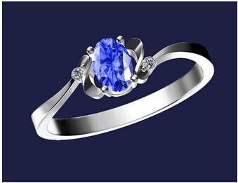 谁知道这个是什么戒指 那里有卖 我知道是蓝宝石戒指图片