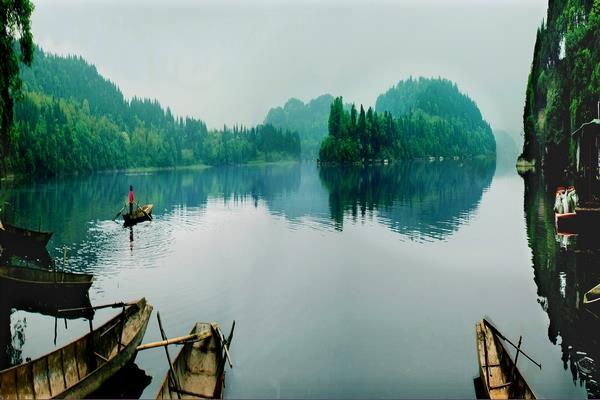 乐至蟠龙湖