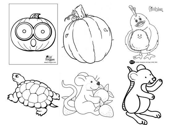 如何学植物和动物的简笔画图片