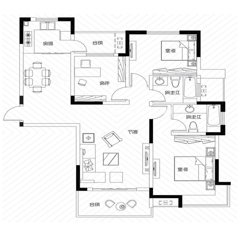 房子户型设计图片