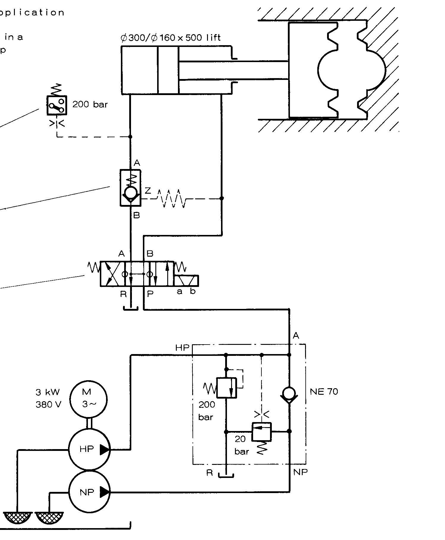 成型机和液压机结构上有什么区别?求专业人士解答下图片