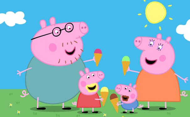 佩奇小猪动画片说的是一段什么故事?
