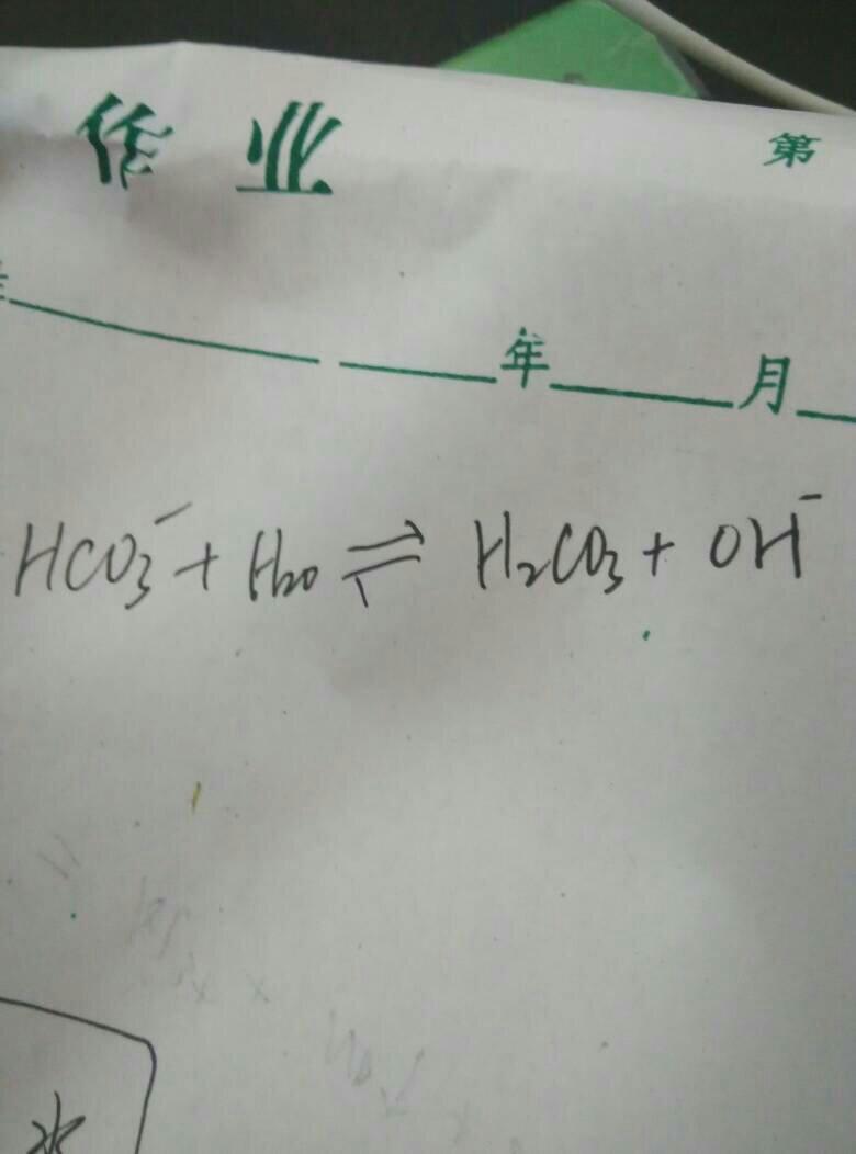 碳酸氢根与钡离子反应吗