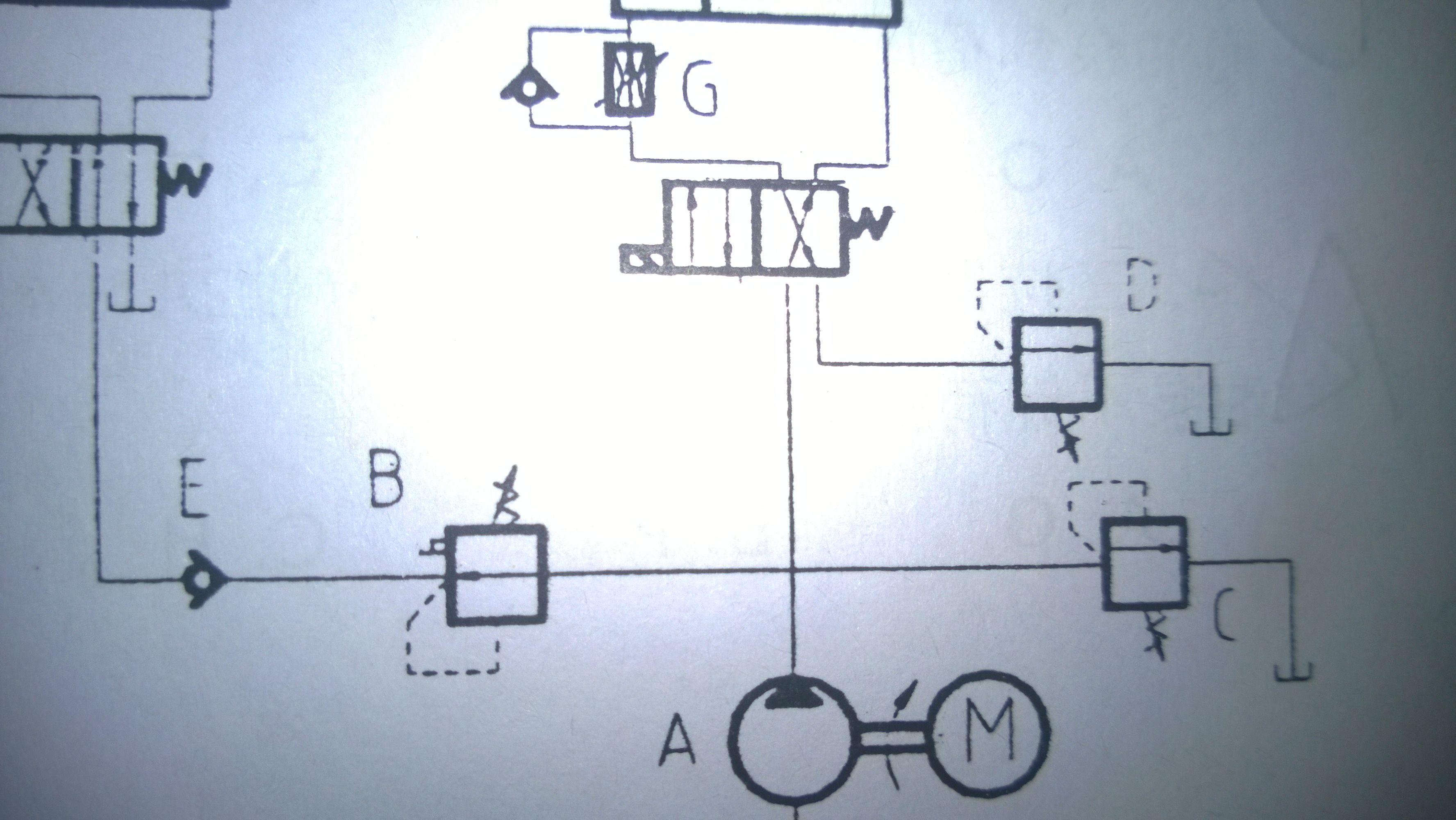 液压原件符号 请问b c图片