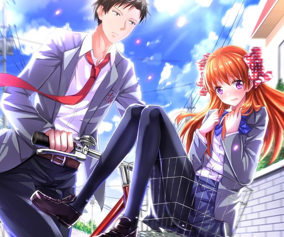 脆求介绍几部日本动漫男主角很帅的爱情