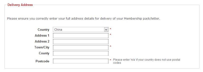 国际包裹地址写法图片