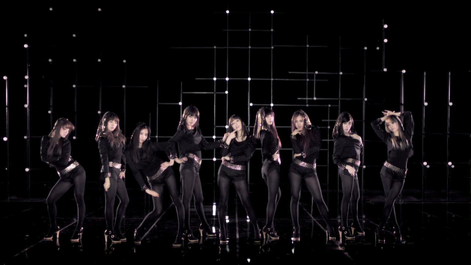 10人的女子组合唱的