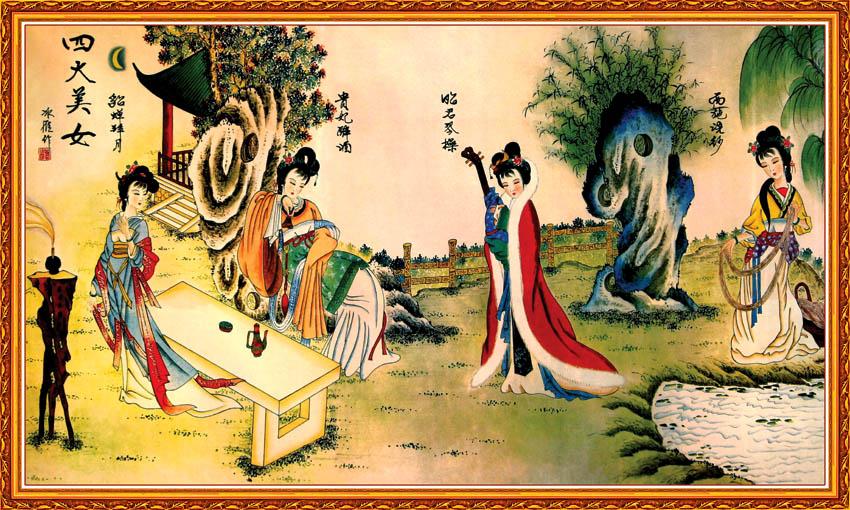 中国古代四大美女 百度知道