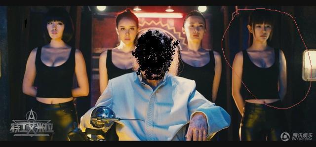 电影《特工艾米拉》的这个女保镖是谁啊?